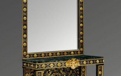 Console Miroir Bellangé