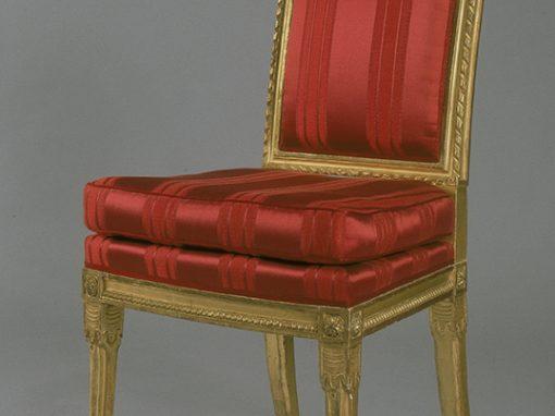 Suite de 8 chaises Empire et Louis-Philippe
