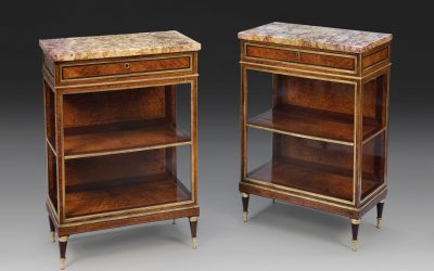 A PAIR OF SIDES CABINETS